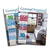 Getting Oganized Magazine
