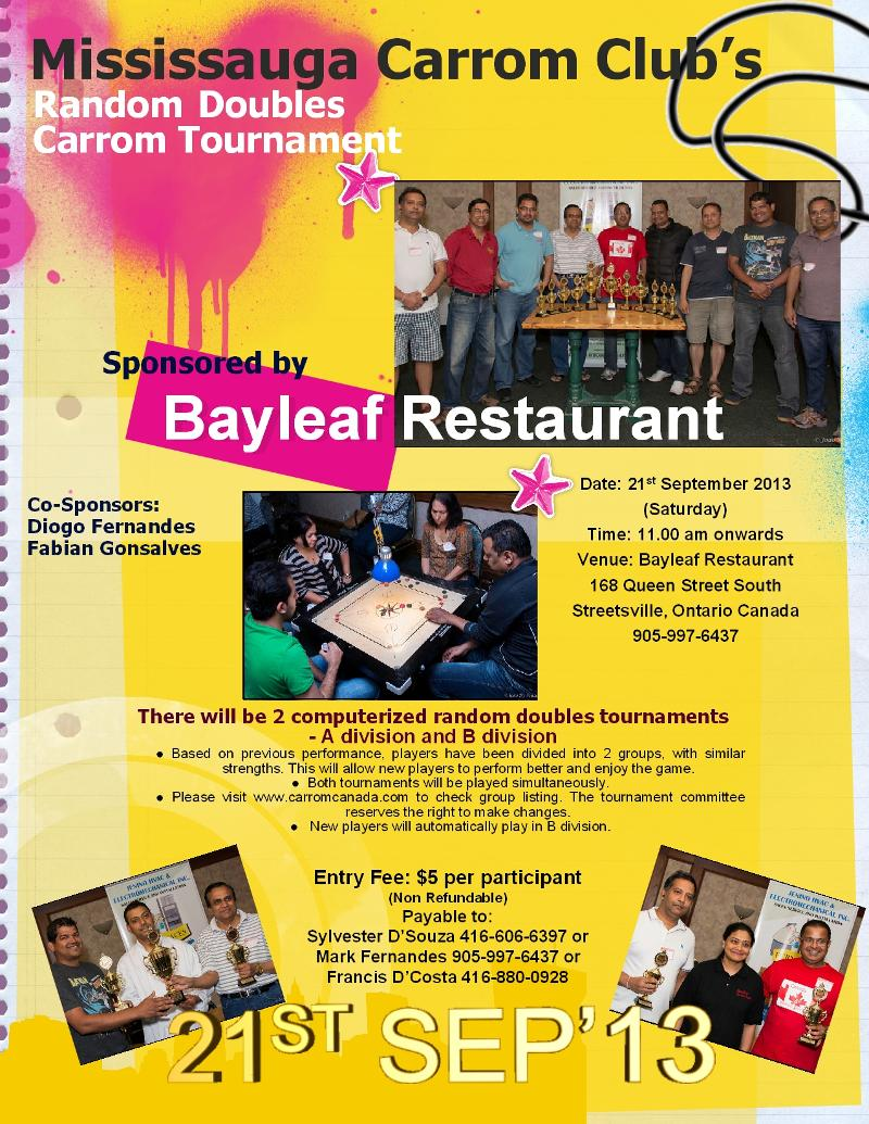 Bayleaf Tournament Two