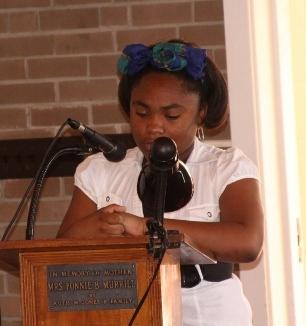 Danielle at MLK
