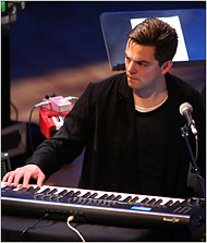 Nico Muhly at the Miller Theater, Photo New York Times