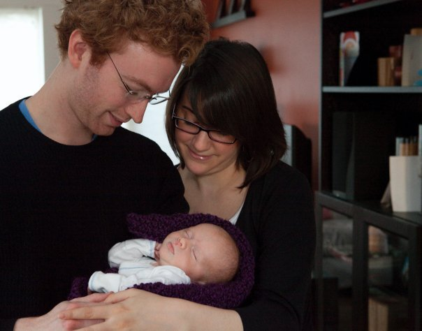 Sam, Kristi, and Nicolas Solomon