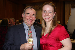 Peter Zazofsky and Heather Braun (YAO '01, '02)
