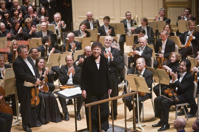 Ann Hobson Pilot making her final bow with the Boston Symphony Orchestra