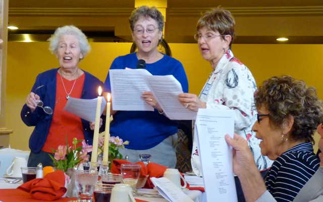 Passover singers 2012