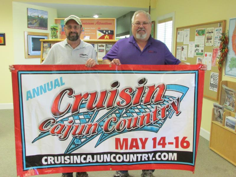 Jimmy Chauvin and Curtis Hollier Cruisin Cajun Country Cruise In