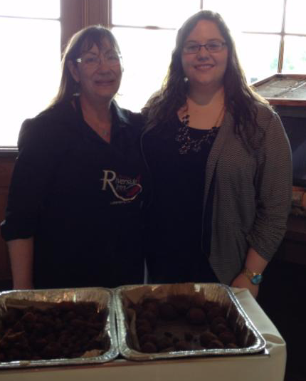 Iberia Parish Day Atchafalaya Welcome Center- Rhea Cormier Little River Inn and Brittany Racca.JPG