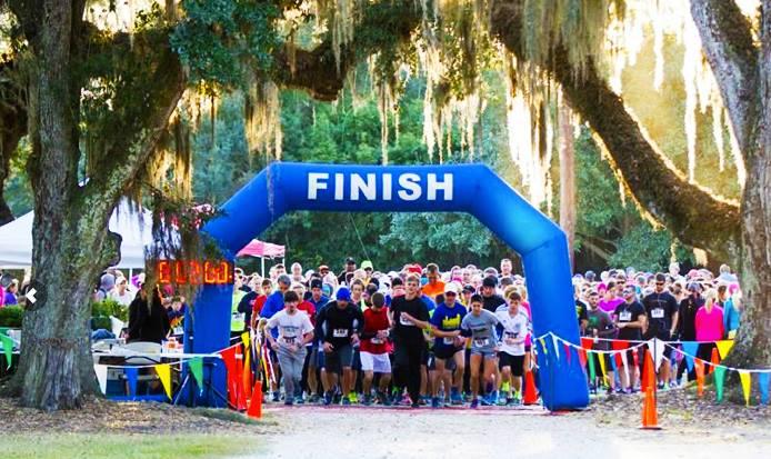 Jungle Gardens 5K race