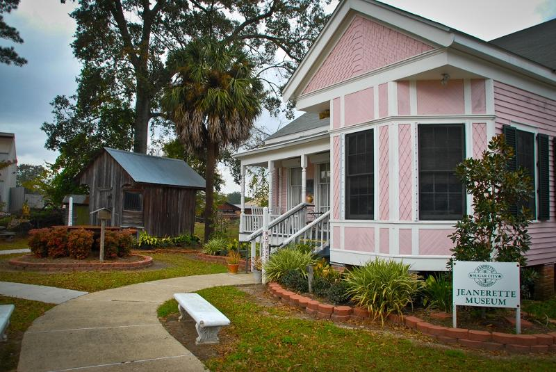 Jeanerette Museum outside