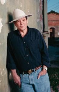 James Lee Burke in New Iberia
