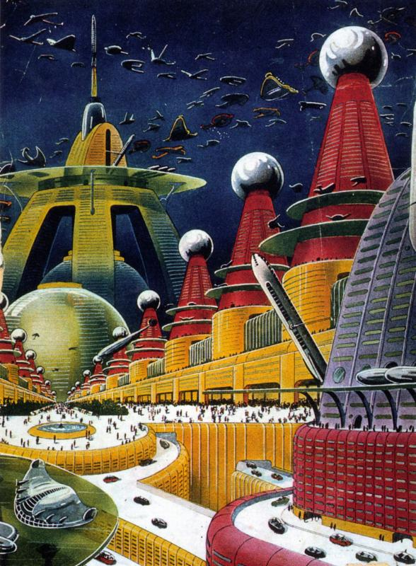Yetersday's Tomorrows City of the Future