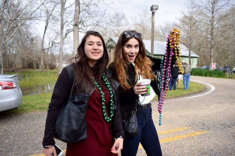 Lake Fausse Pointe State Park Parade - Sloane and Johanna