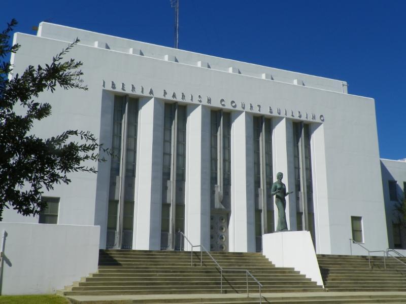 Iberia Parish Courthouse by Margaret Melancon
