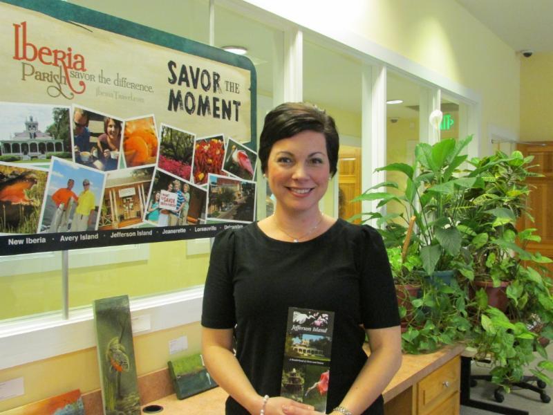 Tasha Dugas, Rip Van Winkle Gardens' marketing representative