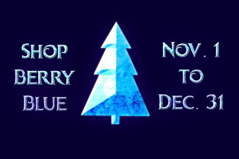 Shop Berry Blue holiday deals