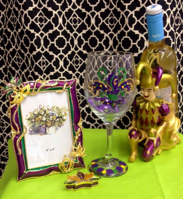 Mardi Gras Gifts at Bangles Basket and Scents