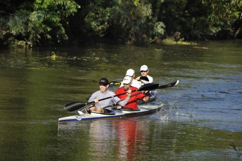Tour du Teche-Crew On Canoe