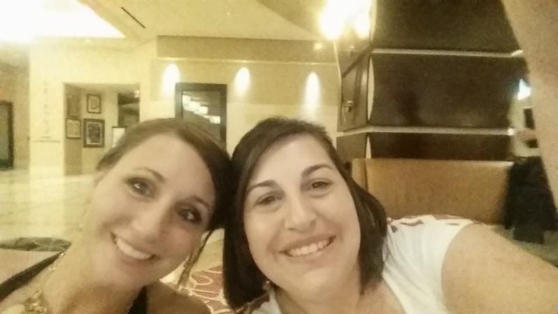 LA Association of Extension 4-H Agents Jennifer Ducote (St. Mary) and Christy Oliver (Iberia)