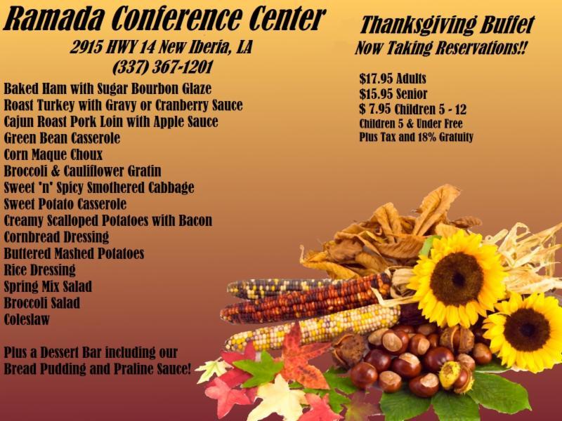 Ramada Thanksgiving Buffet