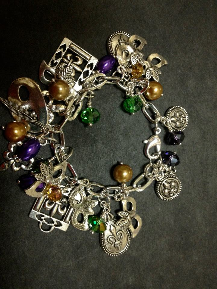 Accentrics Mardi Gras Bracelet
