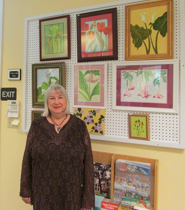 Carla Hostetter Exhibit at Iberia Parish Convention and Visitors Bureau