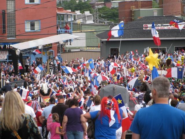 Crowd at Congres Mondial Acadien