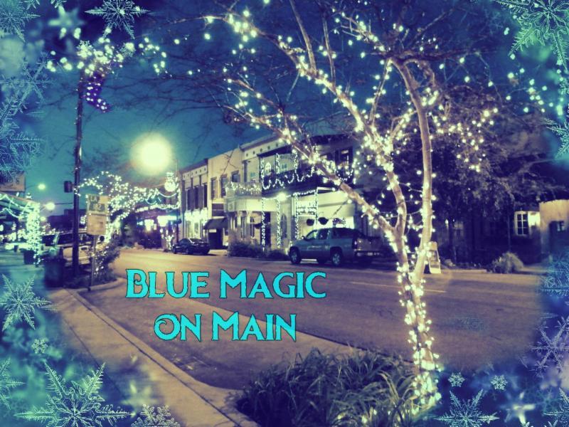 Blue Magic on Main Holiday events in Iberia Parish