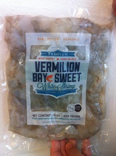 Vermilion Bay Sweet White Shrimp