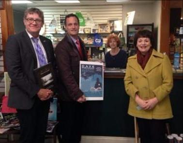 Cathy Indest at Books with Fr consul