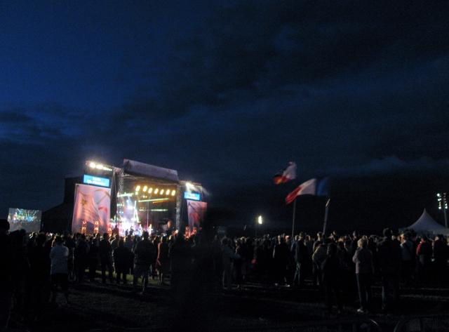 Concert at Congres Mondial Acadien's Louisiana Day