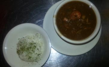 Teche Cafe Seafood Gumbo