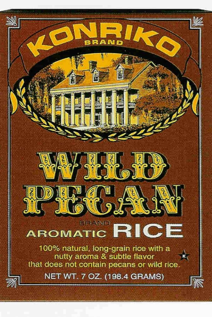 KONRIKO wild pecan rice box