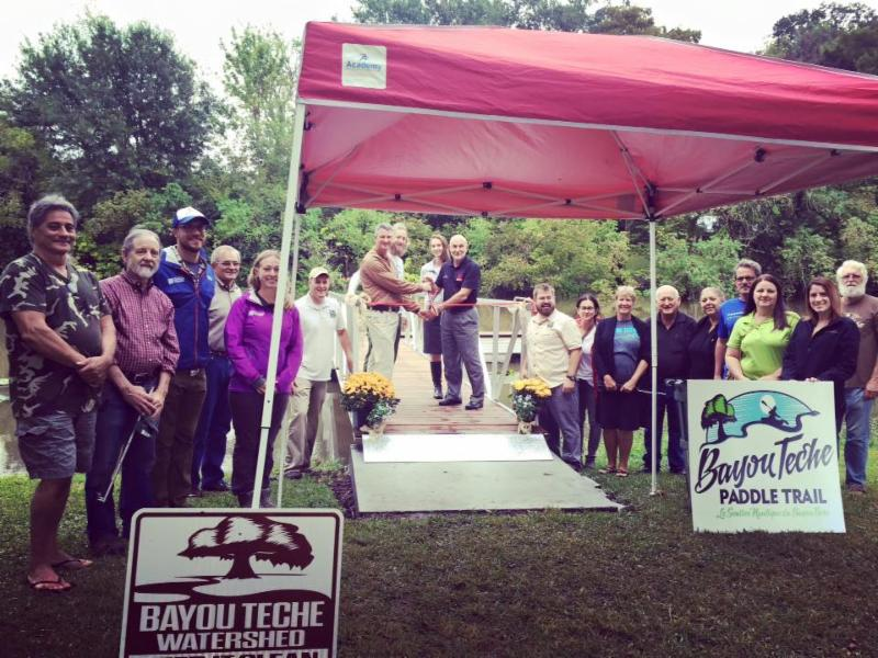 Bayou Teche Paddle Trail Breaux Bridge Boat Launch Grand Opening