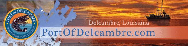 Port of Delcambre letterhead and logo