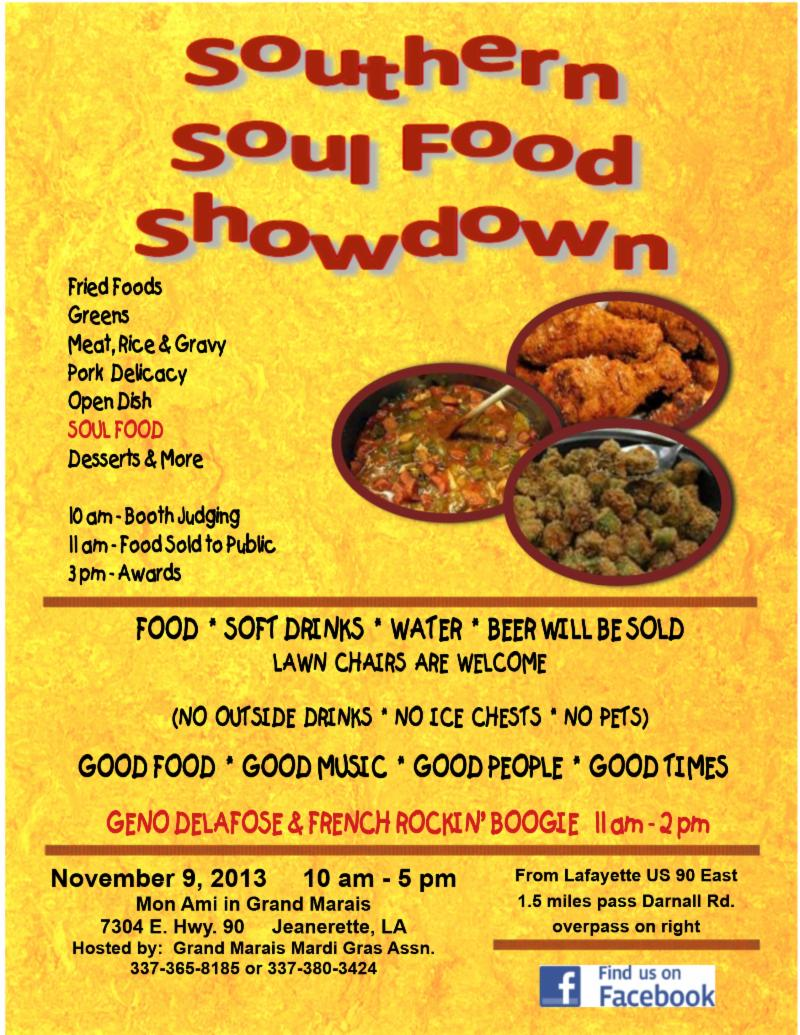 Southern Soulfood Showdown Poster