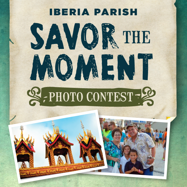 Savor the moment photo contest ad