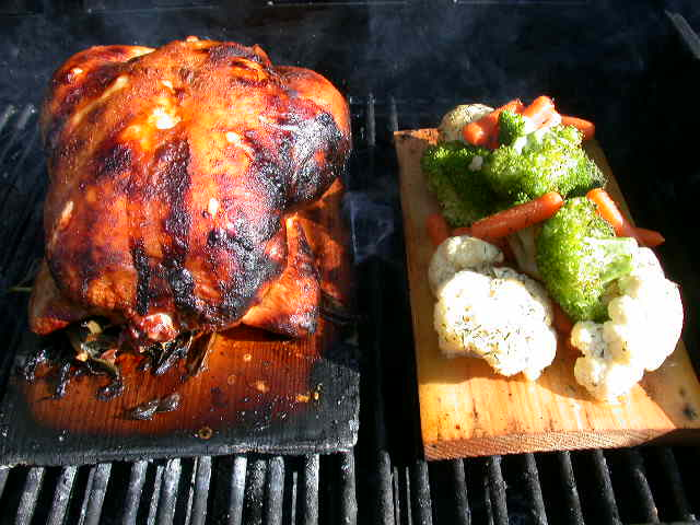 Whole Chicken and Veggies