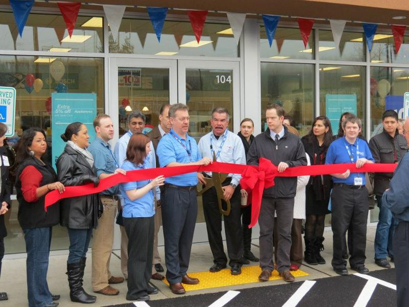 Sears Ribbon Cutting