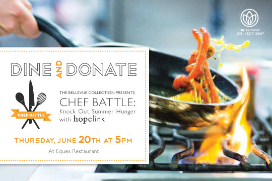 Dine and Donate Logo