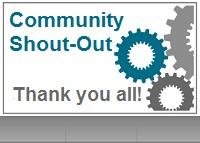 community shout out