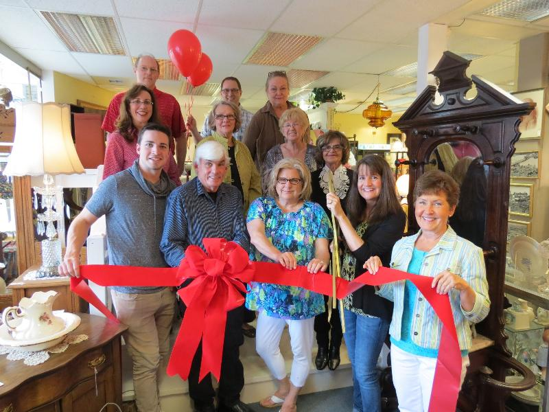 Ribbon Cutting Bothell Main Street Antiques