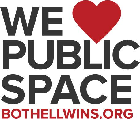 We love Public Spaces Logo