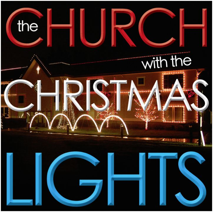 Evergreen Church Christmas Lights