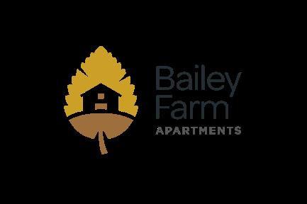 Bailey Farm Apartment Logo Stacked