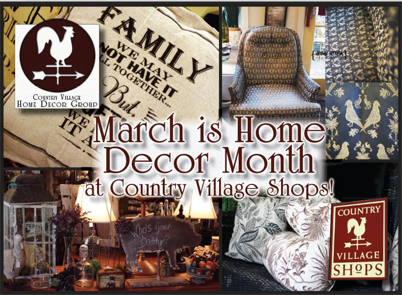 Home Decor Month at CV