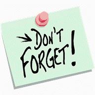Reminder Clip Art