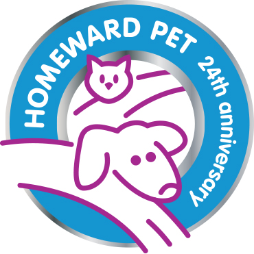 Homeward Pet 24th Anniv. Logo