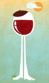 Wine Walk Glass