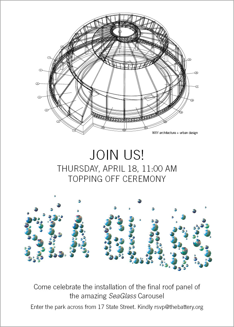 SeaGlass Topping Off Invite