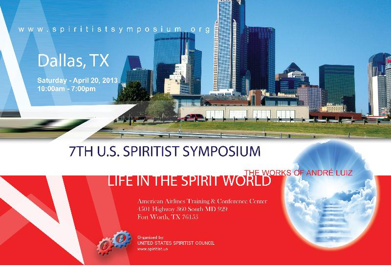 7th US Spiritist Symposium postacard