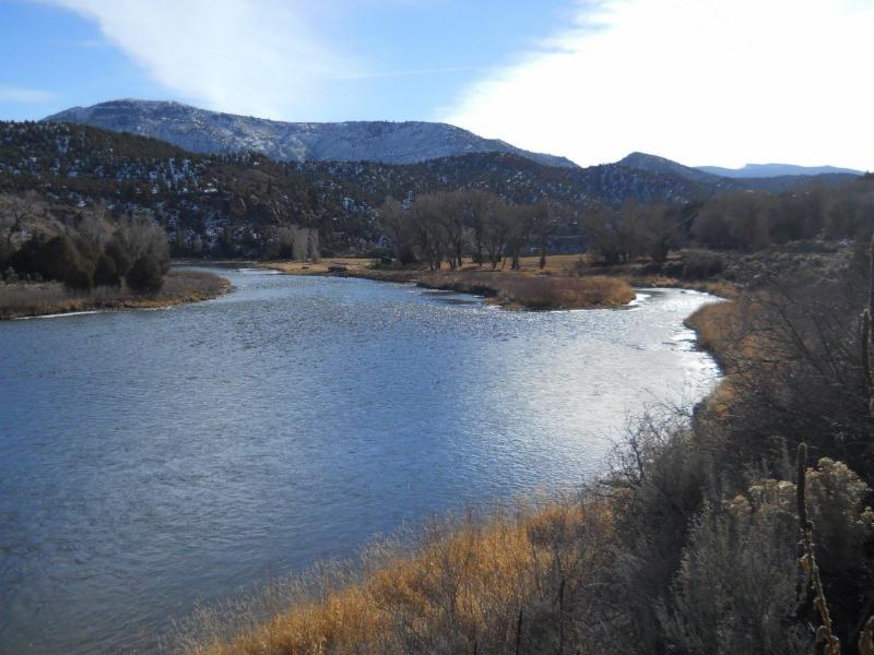 Colorado River in Winter